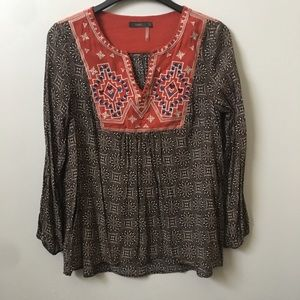 THML Patterned Embroidered Tunic
